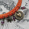 * bracelets crochetés *