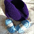 snood violet