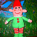 Happy little <b>elf</b>
