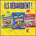 Maoam - Mao Mix - Mao Roxx - Mao Stripes - Bonbons Tendres Fruités - <b>Haribo</b>