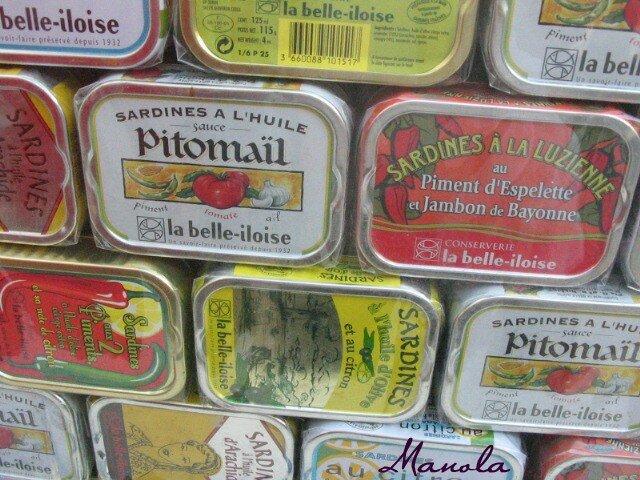 belleiloise:des sardines
