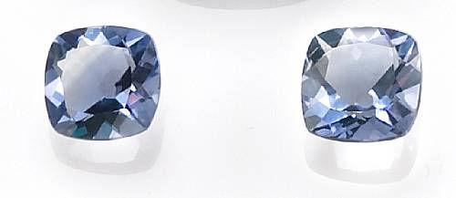 Pair of Blue Fluorites