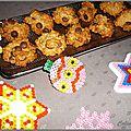 Cookies aux flocons d'avoine zestes d'oranges confits et chocolat (sans gluten)