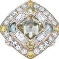De <b>Beers</b>, Talisman signet ring, Talisman three-line ring, Talisman ring