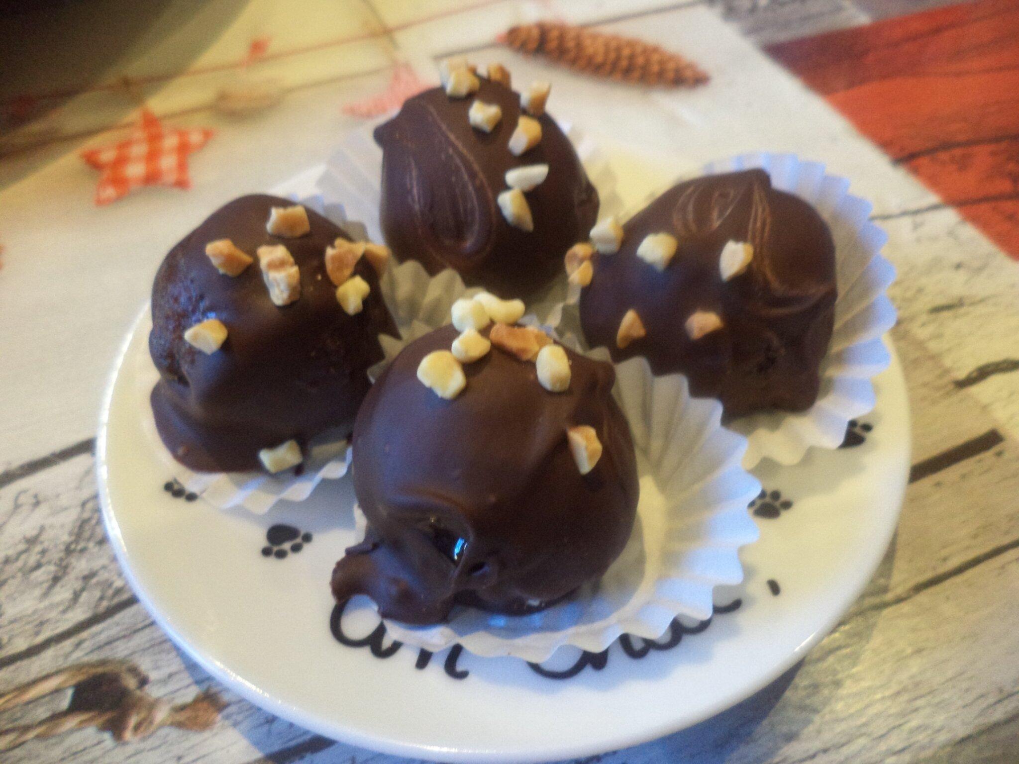 Cakes-pop façon petits chocolats