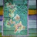 Deux patchworks du Club sélectionnés pour l'<b>expo</b> de patchwork Crazy de La Bourboule