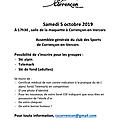 CS CORRENCON - Saison 2017/2018 -