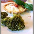 Tartelettes tomates bacon mozzarella - tartitas tomates, tocino ahumado y mozzarella