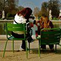 Instantané au jardin des Tuileries.