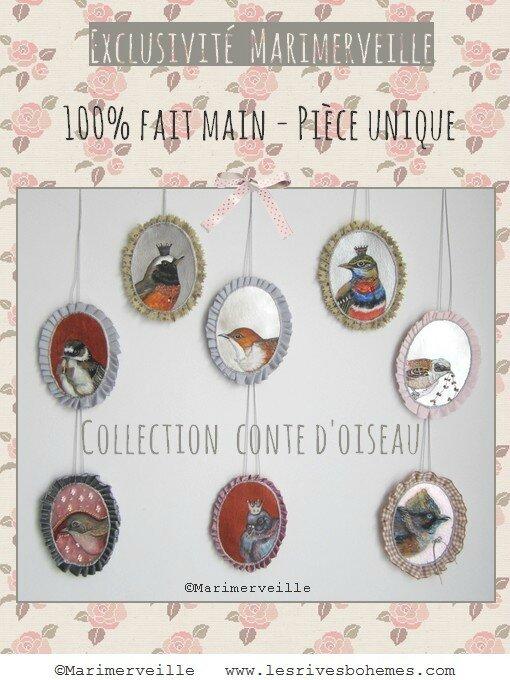 Collection Conte d'oiseau ©Marimerveille 1