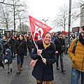 14 mars manifestation à BREST