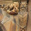 La fameuse Maison des Têtes à Colmar (détails)