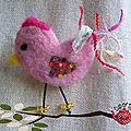 Broche Bird 2