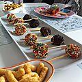 Cake pops en couleur