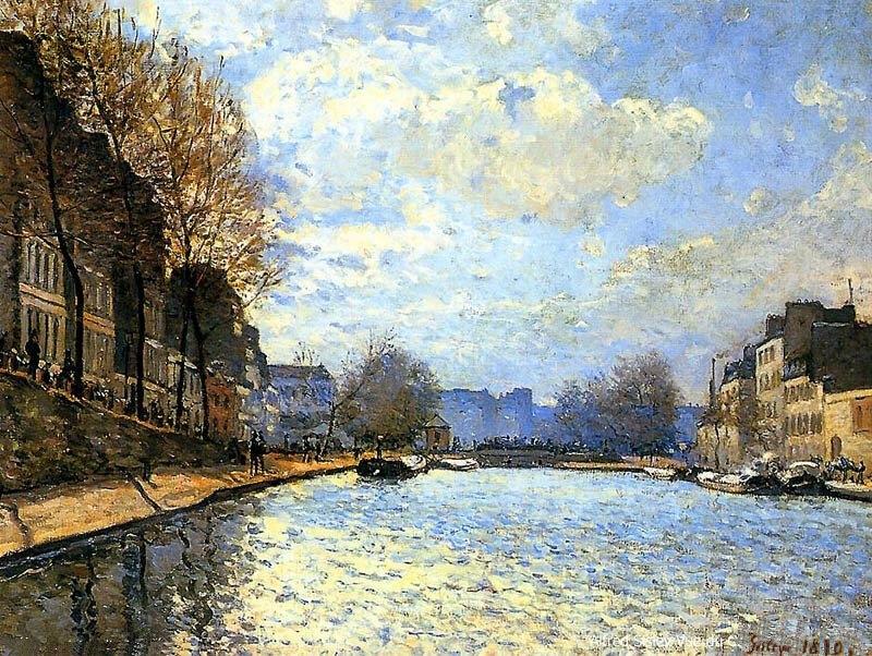 1870 - Canal Saint-Martin