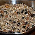 Muesli / granola maison sans sucre ni matière grasse ajoutés