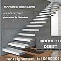escalier suspendu quart tournant escalier suspendu marches suspendues marche caisson, escalier beton placage escalier 3