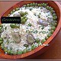Mesfouf <b>couscous</b> petits pois fèves