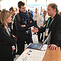 CES LAS VEGAS : <b>NEXYAD</b> CEO TALKING ABOUT ROAD SAFETY AND TELEMATICS WITH FRENCH ECONOMY SECRETARY OF STATE
