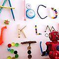 DIY ABC Book / <b>Abécédaire</b> Home déco Récup