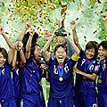 Coupe du monde de football féminin.