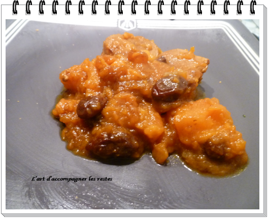 Porc, patate douce, curry 1