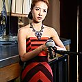 [edit w/ press conference video in english] jolin at taiwan music night in paris