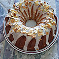 Cake aux amandes et аmaretto / миндальный кекс с амаретто