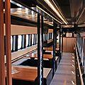 Shinkansen Toreiyu 'lounge bar'