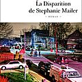 La disparition de stephanie mailer, thriller de joël dicker