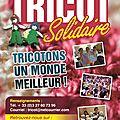 Voici le programme des évènements du tricot solidaire en 2013