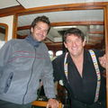 Gilles et le capitaine!