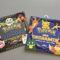 Nos Pokémon en origami