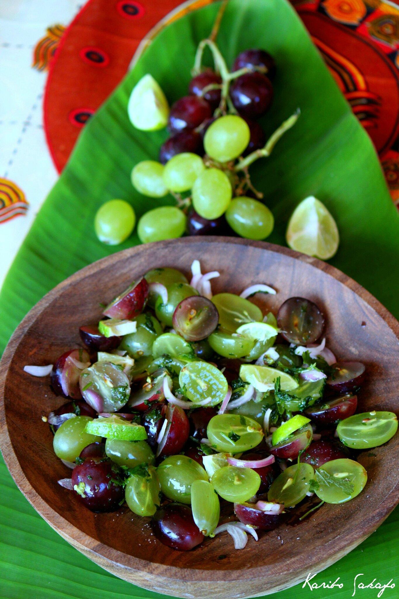 Salade de raisin bangladeshie