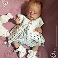 bébé <b>reborn</b> Hortense ( 350€ )