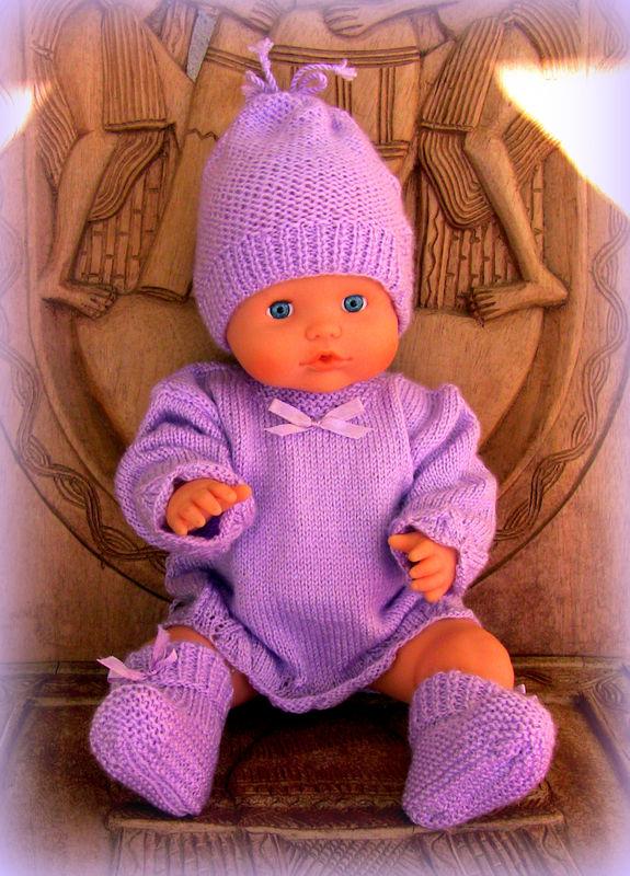 bébé mauve