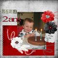 Raphaël 2 ans