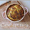 Cocotte de courgettes au curry