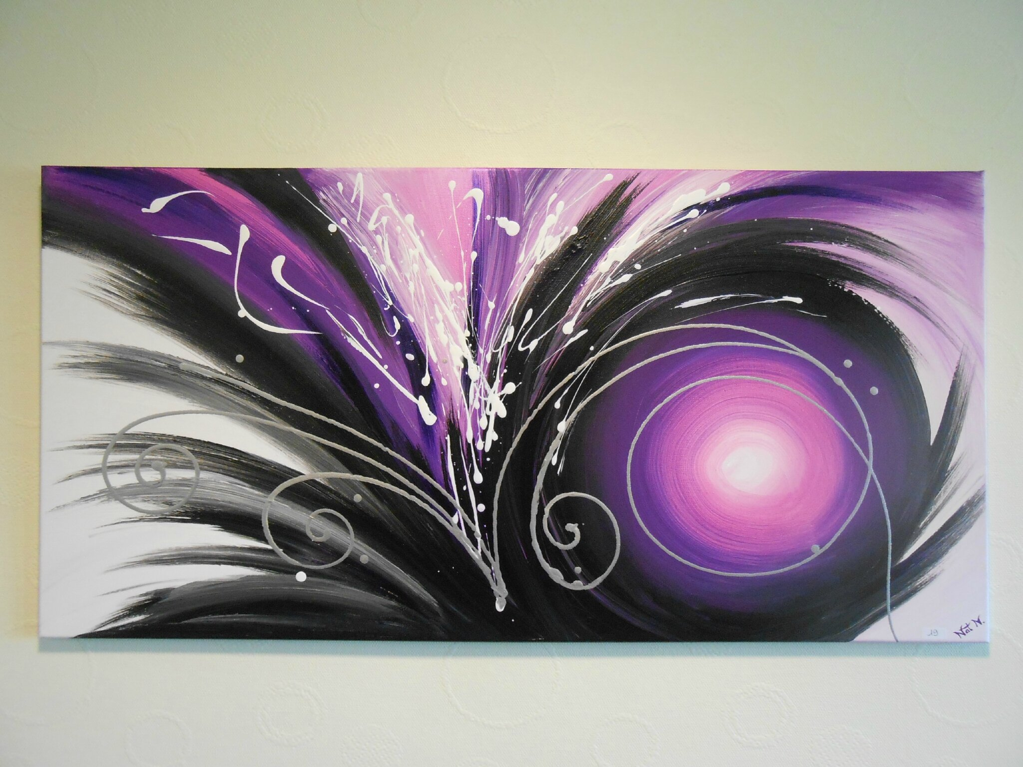 MAGIC PURPLE 2 - 50 x 100