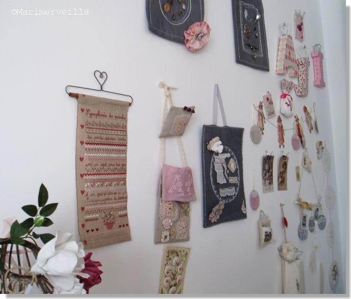 Mur de l'atelier