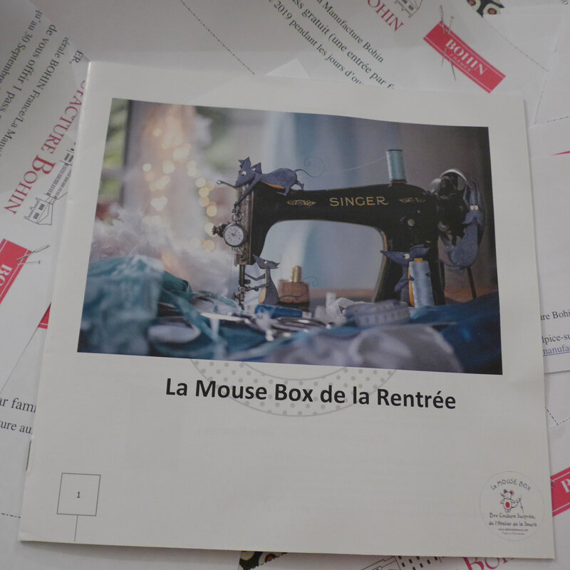 mouse box couture atelier de la souris