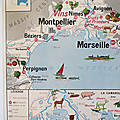 Collection ... <b>Affiche</b> Région MEDITERRANEENNE & CORSE / MASSIF CENTRAL