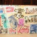 Réutiliser de vieux timbres...