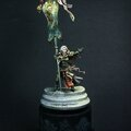 Painted miniatures for sale (flower knight and battle sister)