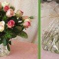 Des bouquets sans vase pour vos tables de réception