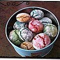 Crinkles ou macarons moelleux