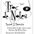 Troc de notes cabaret 2014