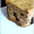 Cheesecake à la <b>citrouille</b> et aux pépites de chocolat
