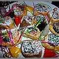 Gâteaux sablés à la pâte de figues et de dattes