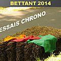 Bettant 2014 - Essais chrono